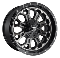 Image Crush D561 - Matte Black & Machined 20x10
