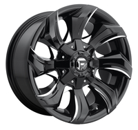 Image Strykr D571 - Gloss Black & Milled 17x9