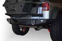Image Full Length Rear Bumper 09 for 07-16 Jeep Wranglers