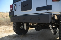Image Steel Stubby Rear Bumper 08 for 07-16 Jeep Wranglers