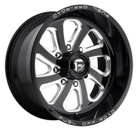 Image Flow D587 - Gloss Black & Milled 18x9