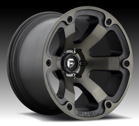 Image Beast D564 - Matte Black & Machined 16x8