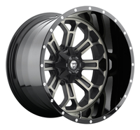 Image Crush D268 - Matte Black & Machined 20x12