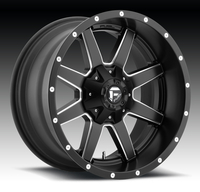 Image Maverick D538 - Black & Milled 17x8.5