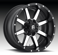 Image Maverick D537 - Black & Machined 17x9