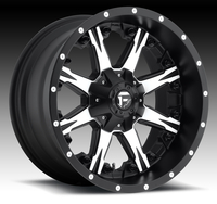 Image Nutz D541 - Black & Machined 17x9