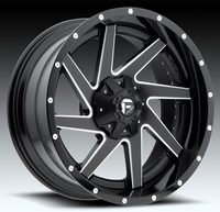 Image Renegade D265 - Black & Milled 20x10