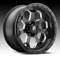 Image Savage D563 - Black & Milled 20x10