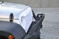 Image DV8 ABS Grill White Paintable 2007-2016 Jeep Wranglers