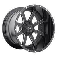 Image Maverick D262 - Black & Milled 20x10
