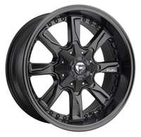 Image Hydro D603 - Matte Black & Milled 17x8.5