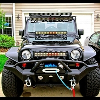 Image Steel Full Length Front Bumper 07-14 Jeep Wranglers