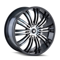 Image SWANK (363) BLACK/MACHINED FACE 20x8.5