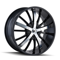 Image ESSENCE (364) GLOSS BLACK/MACHINED FACE 20x8.5