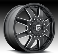 Image Maverick Front (New) D538 - Matte Black & Milled 17x6.5