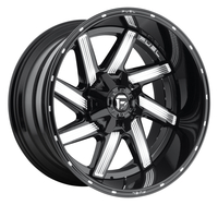 Image Moab D242 - Gloss Black & Milled 20x9
