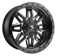 Image Neutron D591 - Matte Black & Milled 18x9