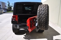 Image Single Action Rear Bumper and Tire Carrier w/ Bearing