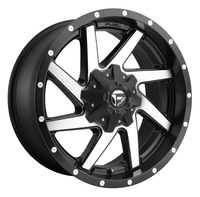 Image Renegade D593 - Black & Machined 20x10