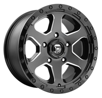 Image Ripper D590 - Gloss Black & Milled 16x8