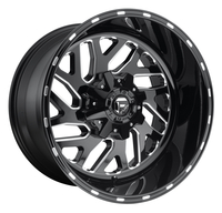 Image Triton D581 - Gloss Black & Milled 17x9