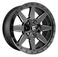 Image Wildcat D597 - Gloss Black & Milled 20x10