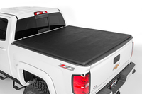 Image Soft Tri-Fold Tonneau Bed Cover (5.5-foot Bed w/ Cargo Management System)