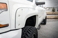 Image Painted Pocket Fender Flares w/ Rivets - Summit White (5.5-foot Bed Models)