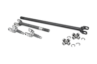 Image 4340 Chromoly Replacement Front Axle Kit - D30 27 Spline w/ 1310 U-Joints (Wrang