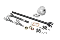 Image 4340 Chromoly Replacement Front Axle Kit w/ Grizzly Locker - D30 30 Spline (TJ /