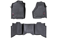 Image Heavy Duty Floor Mats [Front/Rear] - (2019 Dodge Ram | Crew Cab | Full Console)