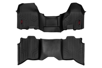 Image Heavy Duty Floor Mats [Front/Rear] - (2019 Dodge Ram 1500 | Crew Cab | Half Cons