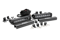Image Dual 8-inch Black Series CREE LED Grille Lights Kit (2017 F250 Lariat)