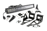 Image 20-inch Chrome Series Dual Row LED Light Bar w/ Hidden Bumper Mounts