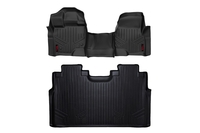 Image Heavy Duty Floor Mats [Front/Rear] - (15-18 Ford F-150)