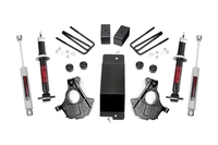 Image 3.5in GM Suspension Lift | Knuckle Kit w/ Struts (07-13 1500 PU 4wd | Cast Steel