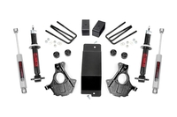 Image 3.5in GM Suspension Lift | Knuckle Kit w/ Struts (14-18 1500 PU 4wd | Cast Steel