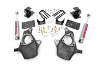 Image Front 2-inch / Rear 4-inch Spindle Lowering Kit