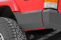 Image Jeep Rear Lower Quarter Panel Armor for Factory Flare (97-01 Cherokee XJ)