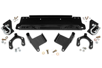 Image Factory Bumper Winch Mounting Plate (Includes D-Rings)