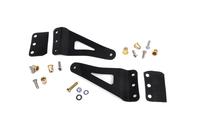 Image 50-inch Curved LED Light Bar Upper Windshield Mounting Brackets (GM Pickup / SUV