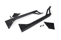 Image 50-inch Straight LED Light Bar Upper Windshield Mounting Brackets (Jeep YJ)