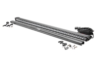 Image 50-inch Chrome Series Single Row Straight CREE LED Light Bar