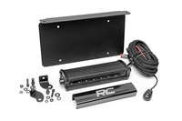 Image LED License Plate Mount Kit w/ 8-inch Black Series CREE LED Light Bar