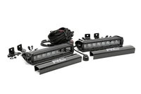 Image 8-inch Black Series CREE LED Single Row Light Bars (Pair)