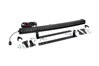 Image Single Row LED Light Bar Grille Mount w/ 30-inch Black Series CREE LED Light Bar