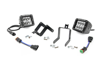 Image 2-inch Chrome Series CREE LED Fog Light Kit (Ford Super Duty)