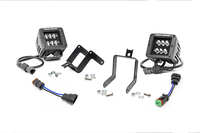 Image 2-inch Black Series CREE LED Fog Light Kit (Ford Super Duty)