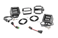Image 2-inch Black Series CREE LED Fog Light Kit (10-18 Wrangler JK)