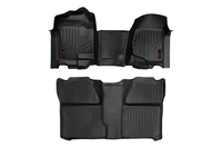 Image GM Heavy Duty Floor Mats [Front/Rear] - (07-13 Silverado / Sierra | 07-14 HD)